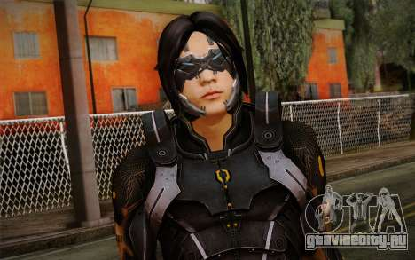 Kei Leng from Mass Effect 3 для GTA San Andreas третий скриншот
