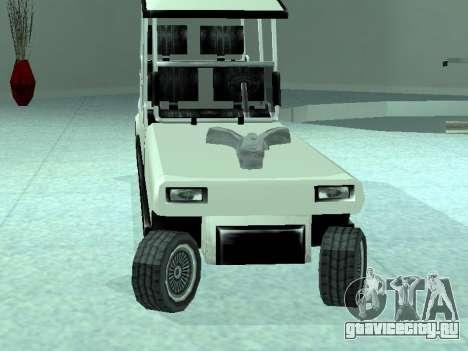 Limgolf для GTA San Andreas вид сзади слева