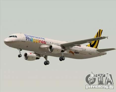 Airbus A320-200 Tigerair Philippines для GTA San Andreas колёса