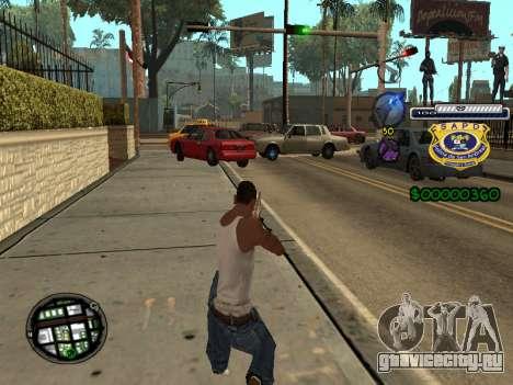 C-HUD Police S.A.P.D для GTA San Andreas второй скриншот