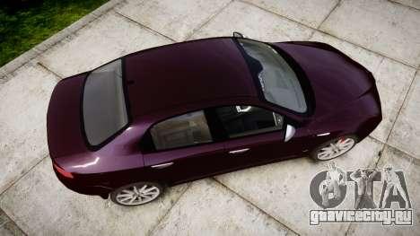 Alfa Romeo 159 TI V6 JTS для GTA 4 вид справа