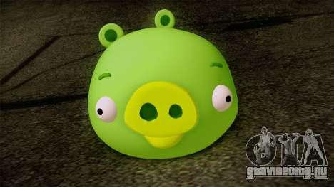 Pig from Angry Birds для GTA San Andreas третий скриншот