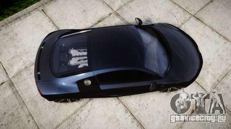 Audi R8 plus 2013 HRE rims для GTA 4 вид справа