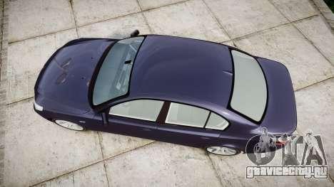 BMW 525d E60 2009 для GTA 4 вид справа