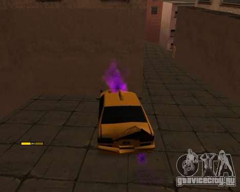 Индикатор HP у автомобиля для GTA San Andreas второй скриншот