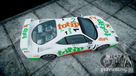 Ferrari F40 1987 [EPM] Jolly Club для GTA 4 вид справа