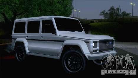 GTA 5 Benefactor Dubsta IVF для GTA San Andreas