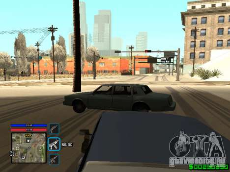 C-HUD Only Ghetto для GTA San Andreas пятый скриншот