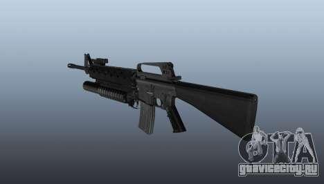 Винтовка M16A2 M203 sight1 для GTA 4 второй скриншот