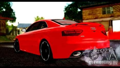 Audi RS5 Coupe для GTA San Andreas вид слева