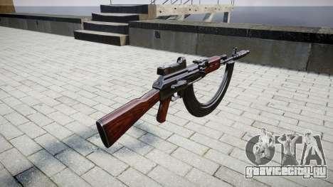 Автомат АК-47 Collimator. Muzzle and HICAP для GTA 4 второй скриншот
