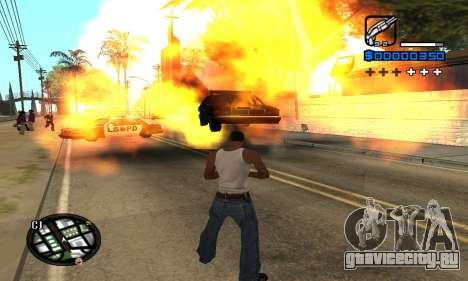 Samaro C-HUD для GTA San Andreas четвёртый скриншот
