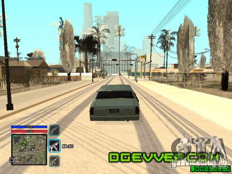 C-HUD Only Ghetto для GTA San Andreas