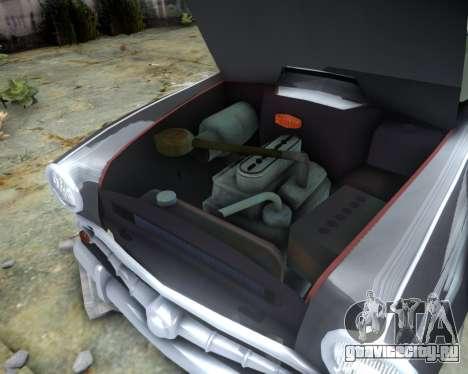 Москвич 407 для GTA 4 вид изнутри