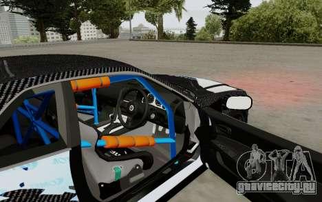 Nissan Skyline GT-R 34 Toyo Tires для GTA San Andreas вид сзади