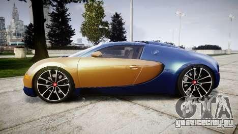 Bugatti Veyron 16.4 v2.0 для GTA 4 вид слева