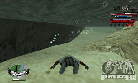 C-HUD by Kir4ik для GTA San Andreas второй скриншот
