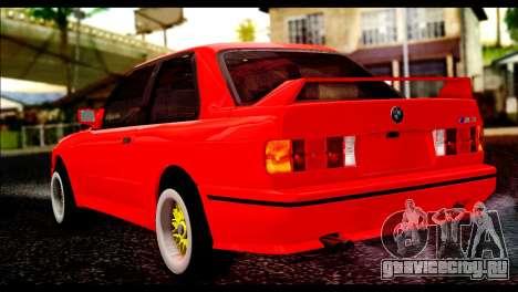 BMW M3 E30 Stock для GTA San Andreas вид слева