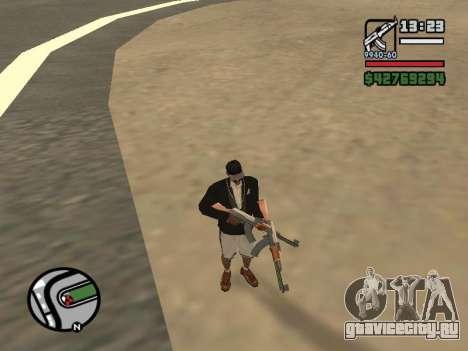 Двойное владением всем оружием для GTA San Andreas второй скриншот
