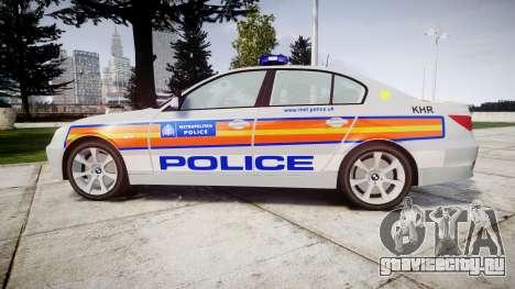 BMW 525d E60 2010 Police [ELS] для GTA 4 вид слева