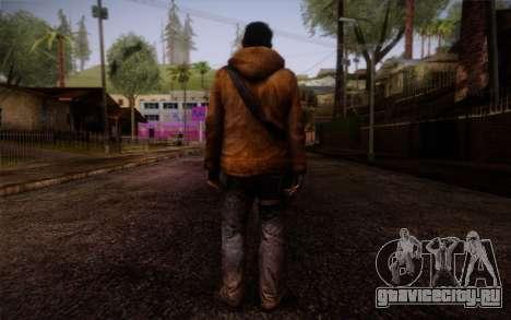 Louis from Left 4 Dead Beta для GTA San Andreas второй скриншот