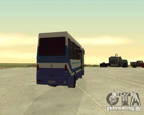 БАЗ А079 Турист для GTA San Andreas вид справа