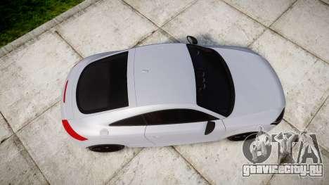 Audi TT RS 2010 для GTA 4 вид справа