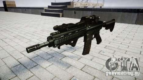 Винтовка HK416 CQB target для GTA 4