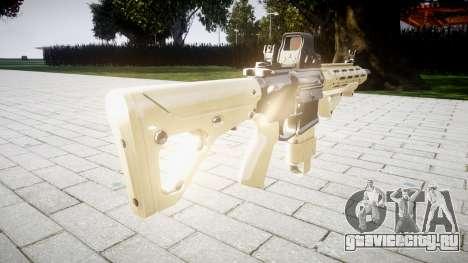 Винтовка AR-15 CQB eotech target для GTA 4 второй скриншот