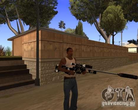 Hitman Weapon Pack v1 для GTA San Andreas четвёртый скриншот