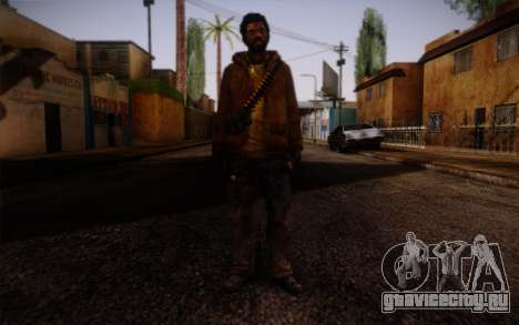 Louis from Left 4 Dead Beta для GTA San Andreas