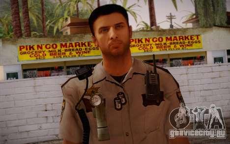 Alex Shepherd From Silent Hill Police для GTA San Andreas третий скриншот