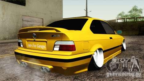 BMW M3 E36 Camber Style для GTA San Andreas вид слева