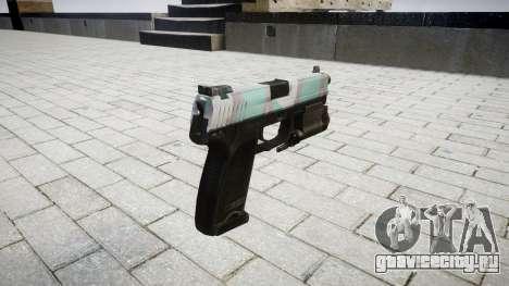 Пистолет HK USP 45 warsaw для GTA 4 второй скриншот