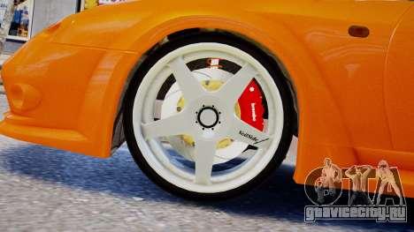 Toyota Supra VeilSide Fortune 03 v1.0 для GTA 4 вид сзади слева