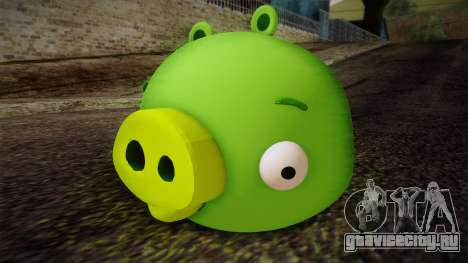 Pig from Angry Birds для GTA San Andreas