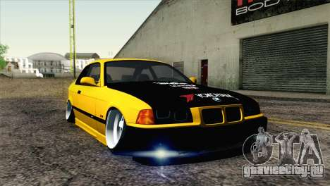 BMW M3 E36 Camber Style для GTA San Andreas