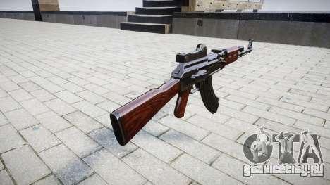 Автомат АК-47 Collimator для GTA 4 второй скриншот