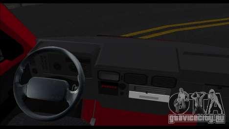 Zastava Daily 35P для GTA San Andreas вид сзади слева