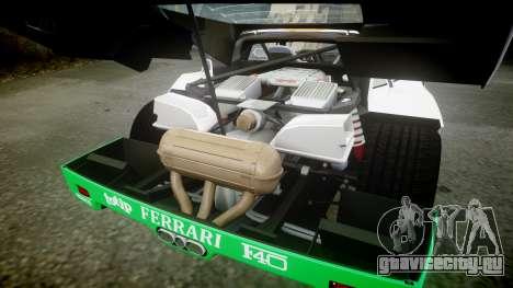 Ferrari F40 1987 [EPM] Jolly Club для GTA 4 вид сбоку