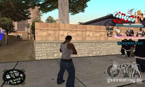 C-HUD Tawer GTA 5 для GTA San Andreas третий скриншот