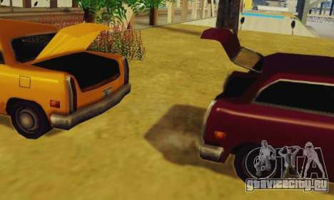 Cabbie Wagon для GTA San Andreas вид справа