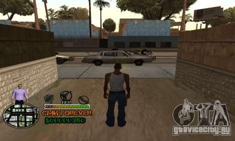 C-HUD СМИ FOREVER для GTA San Andreas