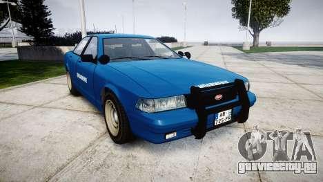 GTA V Vapid Police Cruiser Gendarmerie2 для GTA 4