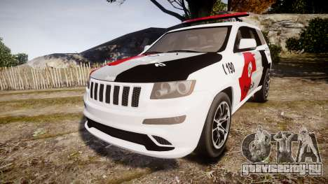 Jeep Grand Cherokee SRT8 Forca Tatica [ELS] для GTA 4