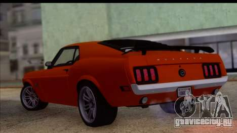 Ford Mustang Boss 429 1970 для GTA San Andreas вид слева