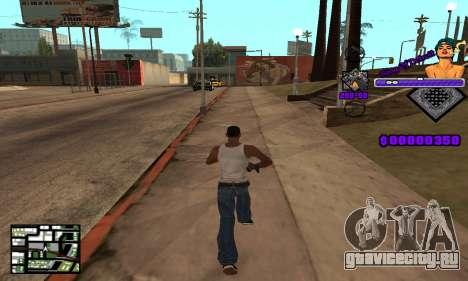 C-HUD King Of Detroit для GTA San Andreas третий скриншот