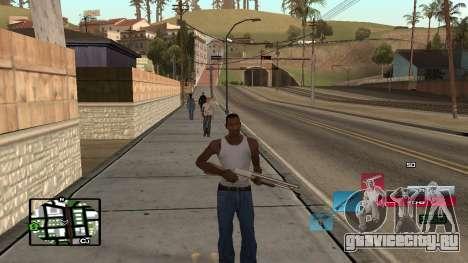 C-HUD by SampHack v.19 для GTA San Andreas