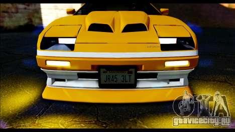 GTA 5 Ruiner Tuning для GTA San Andreas вид сзади слева