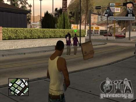 Marusya C-HUD для GTA San Andreas второй скриншот